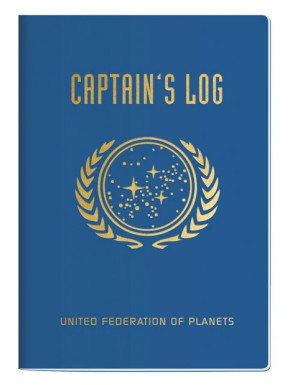 Mini Libreta Star Trek Bitácora del Capitán