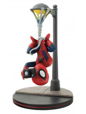 Marvel Comics Figura Q-Fig Spider-Man Spider Cam 14 cm