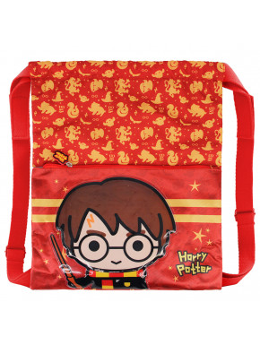 Mochila Saco Harry Potter Kawaii