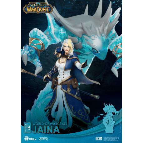 Diorama Jaina World Of Warcraft D-Stage 16cm