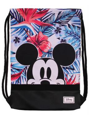 Mochila Saco Mickey Disney Floral