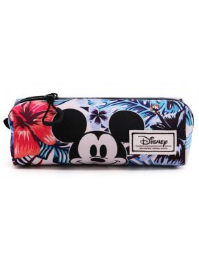 Estuche Portatodo Mickey Disney Floral