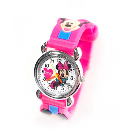 Reloj Mickey Mouse Disney Rosa