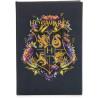 Libreta A5 Hogwarts Floral Harry Potter