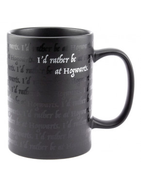 Taza mágica Harry Potter Hogwarts