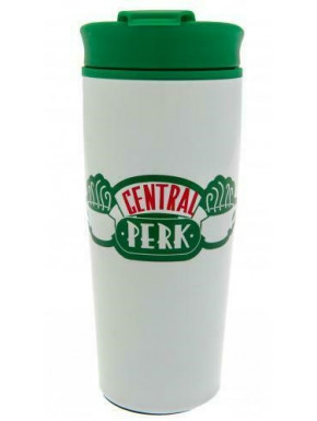Vaso de viaje Friends metálico Central Perk