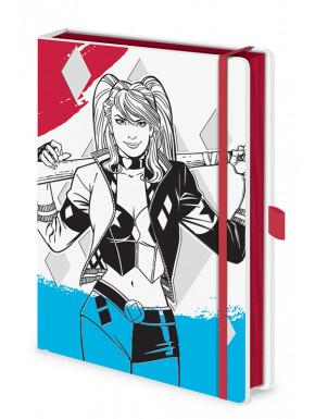 Cuaderno Harley Quinn tapa dura