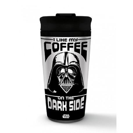 Vaso de viaje metálico Darth Vader
