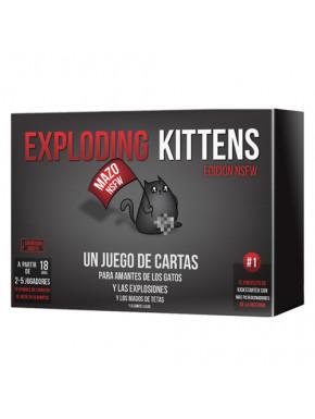 Juego de mesa Exploding Kittens NSFW