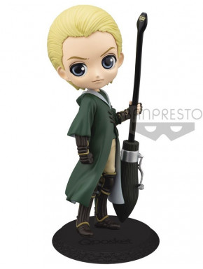 Figura Draco Malfoy Quidditch Q Posket Harry Potter 14 cm