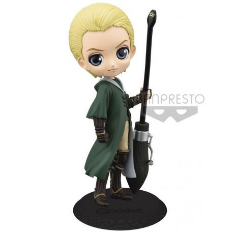 Figura Draco Malfoy Quidditch Q Posket Harry Potter 14 cm