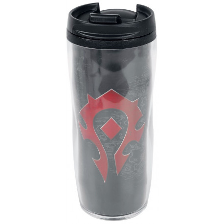Taza de viaje Horda World of Warcraft
