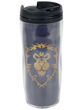 taza de viaje Alianza Warcraft