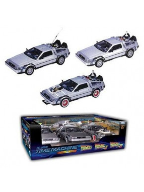 Set 3 Delorean Regreso al Futuro 1, 2 y 3