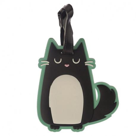Etiqueta de Equipaje de PVC - Gato Feline Fine