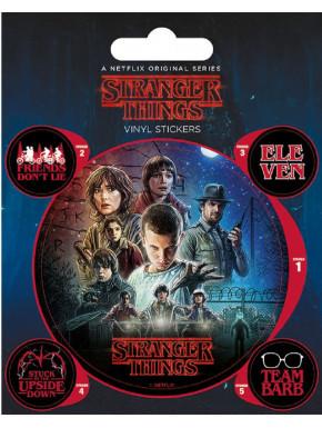 PYR - Set Vinilos Stranger Things