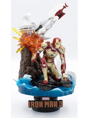Figura Diorama Iron Man 3 Mark XLII 16 cm