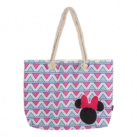Bolso Playa Triángulos Minnie Disney