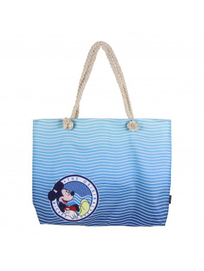 Bolso Playa Azul Mickey Disney