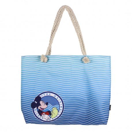 Bolso Playa Azul Mickey Disney