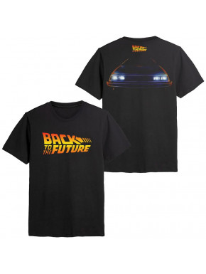 Camiseta Regreso al Futuro BACK TO THE FUTURE - T-SHIRT LOGO CA