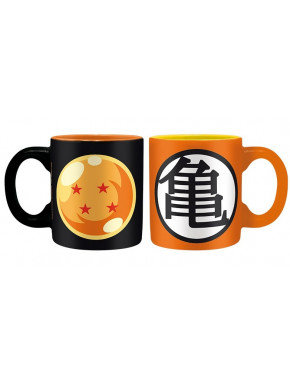DRAGON BALL - Set 2 espresso mugs - 110ml - DBZ/Dragon Ball&Kamex2