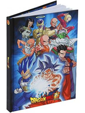 """DRAGON BALL SUPER -  A5 Notebook """"Universe 7"""" X4"""