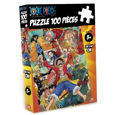ONE PIECE - Puzzle - 100pcs NEW WORLD