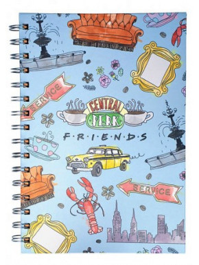 Libreta A5 Friends Bocetos