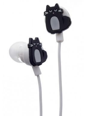 Auriculares con forma - Gato Feline Fine
