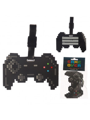 Identificador Equipaje Game Over Controller pixel