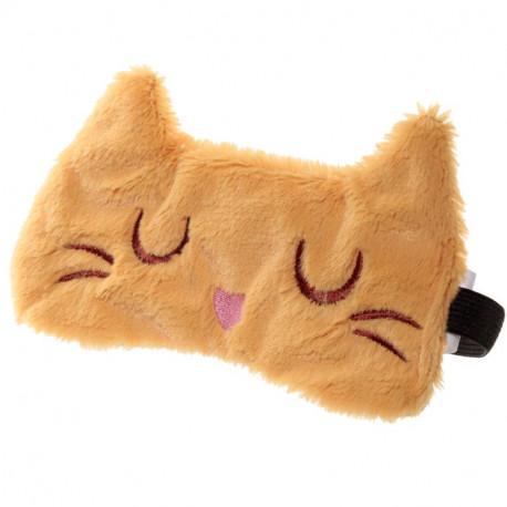 Antifaz viaje para dormir Gato