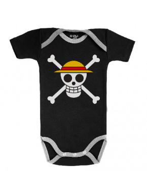 Body bebé bandera Luffy One Piece