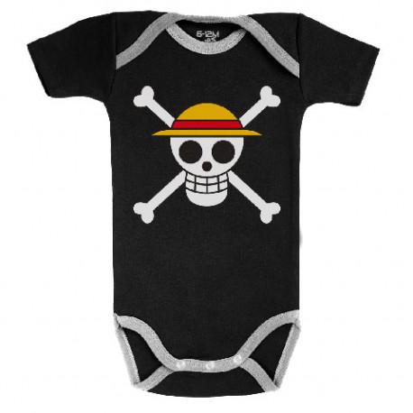 Body bebé bandera Luffy One Piece