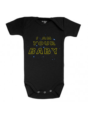 Body bebé I am your Baby Star Wars