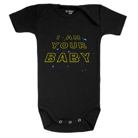 Body bebé I am your Baby Star Wars