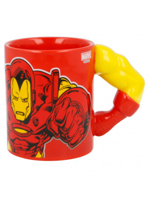 Taza 3D Iron Man Marvel