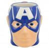 Taza 3D Capitán América Marvel 330 ml