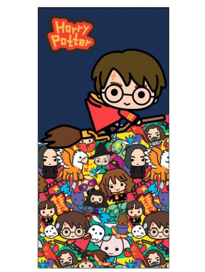 Toalla Harry Potter Chibi