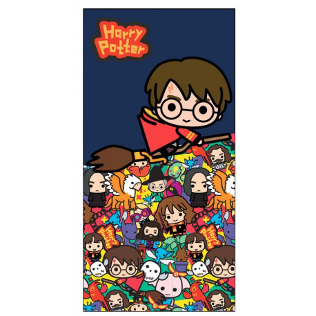 Toalla Harry Potter Chibi
