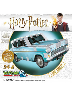 Puzzle 3D Harry Potter Coche Ford Anglia
