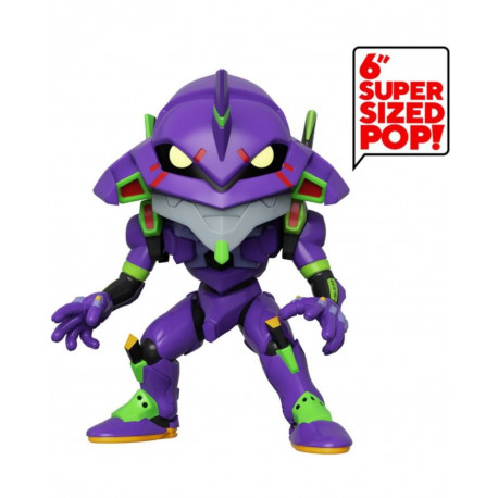 Evangelion Figura Super Sized POP! Vinyl Eva Unit 01 15 cm