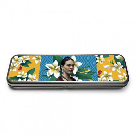 Set de Lápices en Lata Frida Khalo