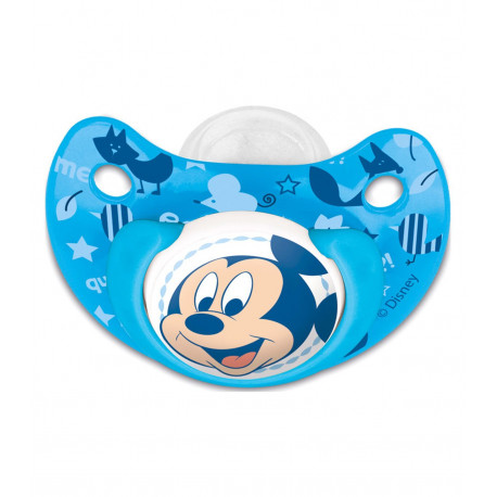 STOR CHUPETE TETINA ANATOMICA SILICONA 0-6 M EN BLISTER MICKEY BABY PAINT POT