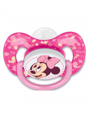 STOR CHUPETE REVERSIBLE TETINA FISIOLOGICA SILICONA +6 M EN BLISTER MINNIE BABY PAINT POT