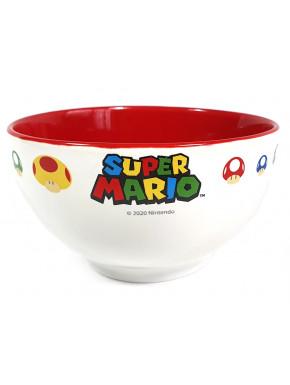 Bol desayuno Super Mario Nintendo