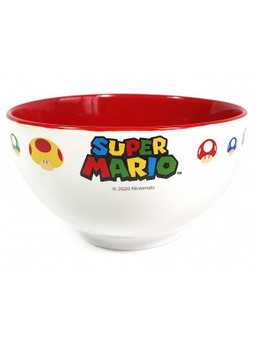 Bol ceramica Super Mario Nintendo