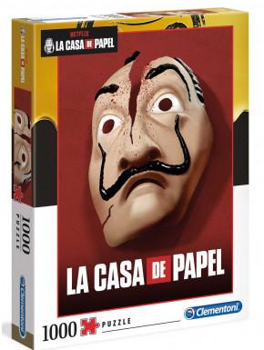 Puzzle La Casa de Papel máscara