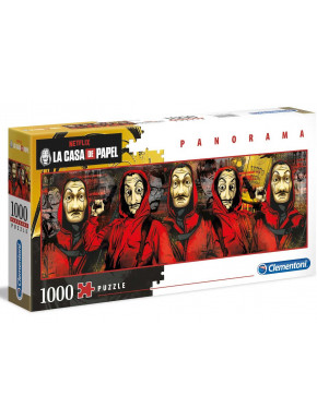Puzzle La Casa de Papel 1000 piezas panorama