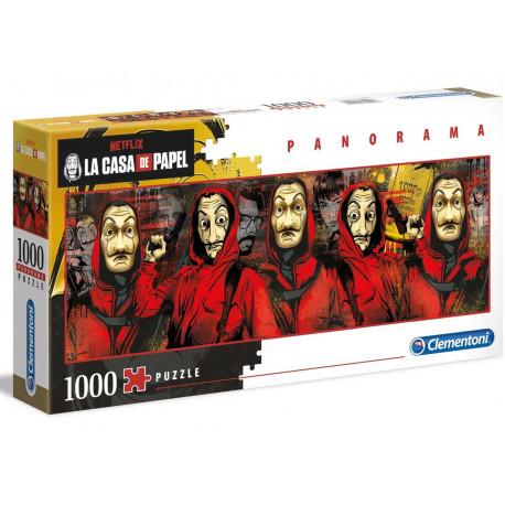 Puzzle La Casa de Papel personajes 1000 piezas